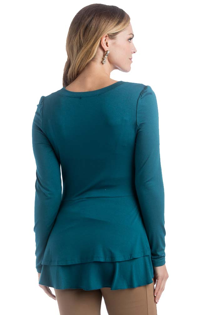 Find great deals on eBay for long sleeve maternity tops. Shop with confidence. Skip to main content. eBay: out of 5 stars - New NWT Maternity Top Long Sleeve Shirt Tee Liz Lange Size Sz XS S M L XXL (1) [object Object] $ Buy It Now. Free Shipping. Guaranteed by Wed, Oct. 3.