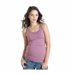 SOLD OUT Lilac Print Beater Maternity Tank Top