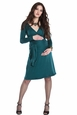 Lilac Reese Maternity And Nursing Wrap Dress