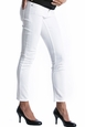 Lilac Skinny 5 Pocket Maternity Jeans - White