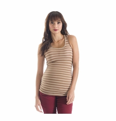 Lilac Sweater Knit Beater Maternity Tank Top