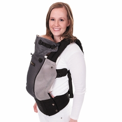 Lillebaby Complete Airflow Baby Carrier - Grey/Silver Mesh