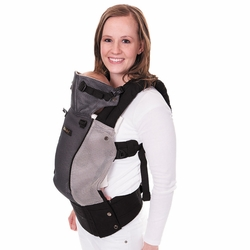 SOLD OUT Lillebaby Complete Airflow Baby Carrier - Grey/Silver Mesh