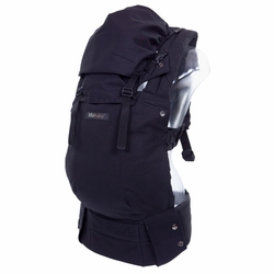 TEMPORARILY OUT OF STOCK Lillebaby Complete Organic Cotton Baby Carrier - Black