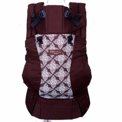 Lillebaby Complete Organic Cotton Baby Carrier - Toffee/Lace