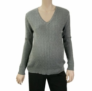 Lilo Cable V-Neck Maternity Sweater - FINAL SALE