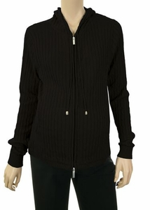 Lilo Ribbed Zip Up Maternity Hoodie - FINAL SALE