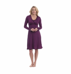 Majamas Natalie Maternity Nursing Night Gown