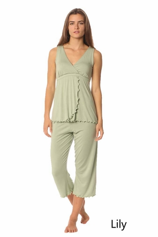 Majamas Pachesi Maternity Nursing Pajama Lounge Set