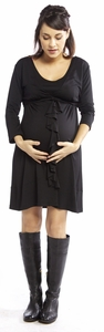 Majamas Spiral Maternity & Nursing Dress