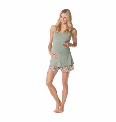 Majamas Sunrise Short Maternity Nursing Pajama Set
