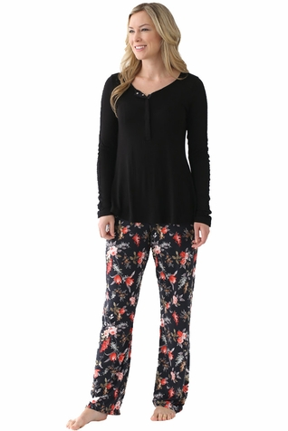 SOLD OUT Majamas The Sophia Maternity Nursing Pajama Set