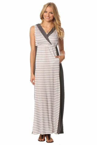 SOLD OUT Majamas The Weekend Hooded Maternity Nursing Maxi Dress