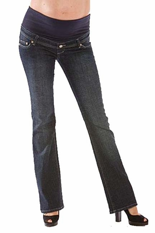 SOLD OUT Mamablack Bootleg Celebrity Maternity Jeans - Dark Wash