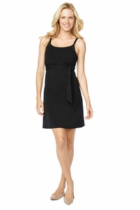 Maternal America A-Line Tie Front Nursing Dress