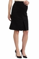 Maternal America Audrey Front Pleat Maternity Skirt