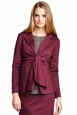 Maternal America Audrey Long Sleeve Front Tie Blazer