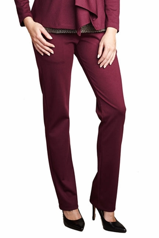 SOLD OUT Maternal America Audrey Over Belly Slim Career Maternity Pants