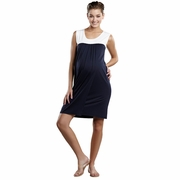 Maternal America Babydoll Maternity And Nursing Dress