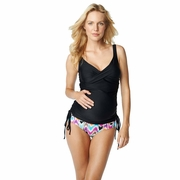 SOLD OUT Maternal America Bella Ruched Maternity Tankini