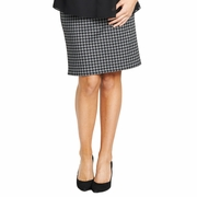 Maternal America Belly Dart Career Maternity Skirt