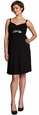 Maternal America Belted Maternity & Nursing Dress