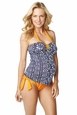 Maternal America Carrie Two Piece Bow  Maternity Tankini
