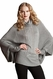 SOLD OUT Maternal America Cheryl Batwing Cable Knit Maternity Sweater