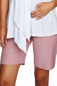 Maternal America City Maternity Shorts