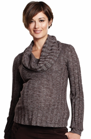 SOLD OUT Maternal America Convertible Long Sleeve Sweater