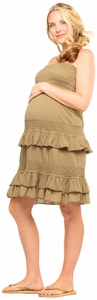 Maternal America Convertible Maternity Dress/Skirt