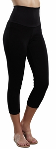 Maternal America Cropped Maternity Leggings