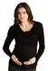 SOLD OUT Maternal America Draped Neck Maternity Top