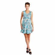 Maternal America Floral Maternity And Nursing Empire Dress