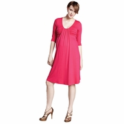 Maternal America Flutter Maternity Dress