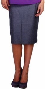 SOLD OUT Maternal America Front Pleat Maternity Skirt
