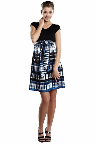 SOLD OUT Maternal America Front Tie Dress