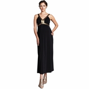 Maternal America Gold Band Maternity Dress