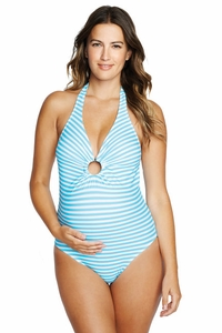 Maternal America Jasmine One Piece Maillot Maternity Swimsuit