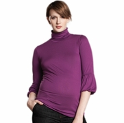 Maternal America Lantern Sleeve Maternity Top