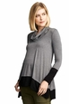 Maternal America Layered Loose Fit Maternity Sweater