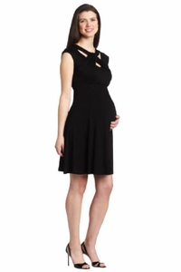 SOLD OUT Maternal America Loop Neck Maternity Dress