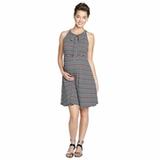 Maternal America Maternity Halter Dress With Bow