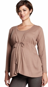 Maternal America Maternity & Nursing Cardigan