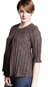 SOLD OUT Maternal America Maternity & Nursing Sweater