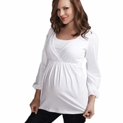 Maternal America Maternity & Nursing Top - FINAL SALE