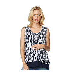 Maternal America Maternity Overlay Top
