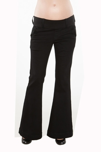 Maternal America Megan Trouser Jeans  - Black