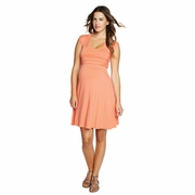 Maternal America Mini Sweetheart Maternity Dress