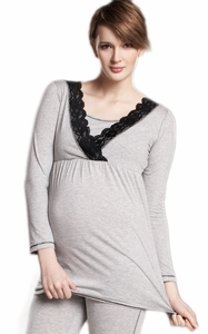 SOLD OUT Maternal America Nursing & Maternity Pajama Top